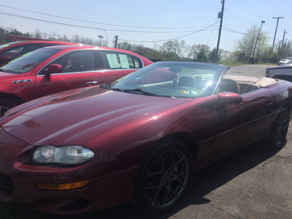 2000 Chevy Camaro Convertible